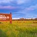 Alberta BC border Sunset