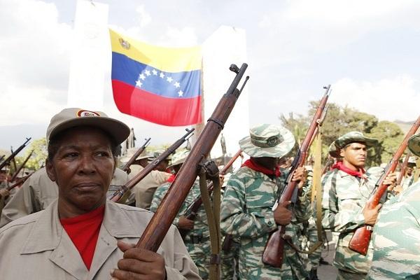 Risultati immagini per Milicia popular bolivariana