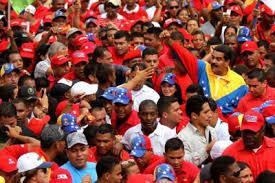 Risultati immagini per Marcha Chavista Maduro