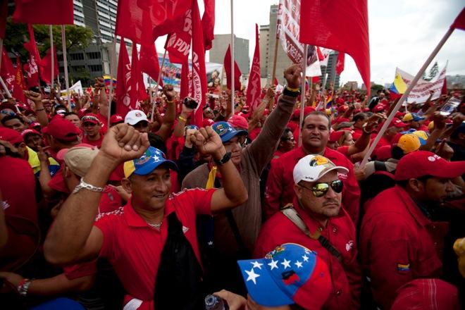 Risultati immagini per chavismo en marcha