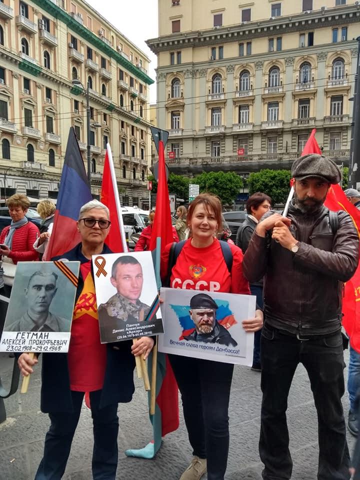 L'immagine può contenere: 6 persone, tra cui Getman Eleonora e Svetlana Svetlana, persone che sorridono, persone in piedi e spazio all'aperto